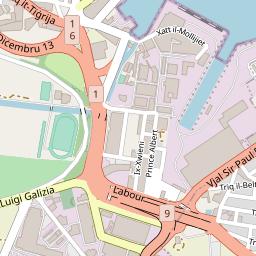 Webcam map of - Ħamrun - St  Joseph High Street